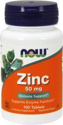 NOW Zinc 50mg tabletta - 100 db