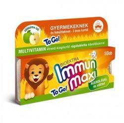 Bioextra Immun Maxi zöldalmás rágótabletta - 10 db