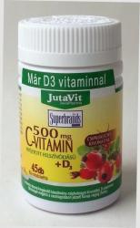 JutaVit C-vitamin és D3-vitamin 500mg tabletta - 45 db