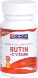 Damona Rutin+C-vitamin tabletta - 90 db