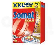Somat Gold Mosogatógép Tabletta Mega Pack (72db)