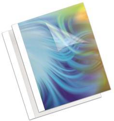 Fellowes Hőkötőborító, 1, 5 mm, 170 g, 1-10 lap, matt, A4, FELLOWES Coverlight , fehér (IFW53796)