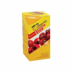 OCSO C-vitamin 500mg kapszula csipkebogyóval és acerolával - 30 db
