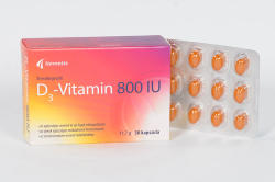 Noventis D3-vitamin 800 IU kapszula - 30 db
