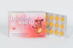 Noventis D3-vitamin 400 IU kapszula - 30 db