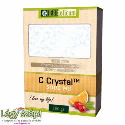 HERBioticum C Crystal 2000mg C-vitamin por - 100g