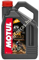 Motul 4T ATV Power 5W-40 (4L)