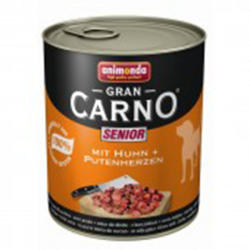 Animonda GranCarno Senior - Chicken & Turkey Hearts 800g