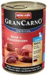 Animonda GranCarno Junior - Beef & Turkey Hearts 400g