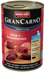 Animonda GranCarno Junior - Beef & Turkey Hearts 6x400g