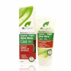 Dr. Organic Bio Aloe Vera gél teafa olajjal (200ml)