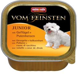 Animonda Vom Feinsten Junior - Poultry & Turkey Hearts 6x150g