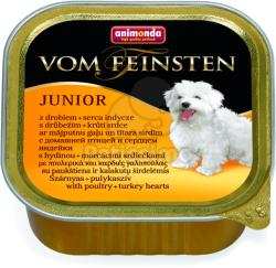 Animonda Vom Feinsten Junior - Poultry & Turkey Hearts 24x150g