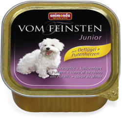 Animonda Vom Feinsten Junior - Poultry & Turkey Hearts 48x150g