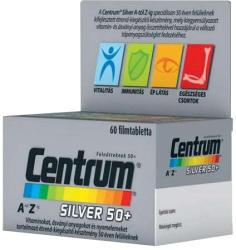 Centrum Silver 50+ A-Z-ig Luteinnel tabletta - 60 db