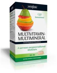 INTERHERB Multivitamin-Multiminerál+Q10 tabletta - 30 db