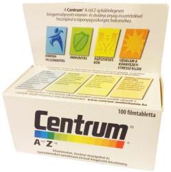 Centrum A-Z-ig multivitamin tabletta - 100 db