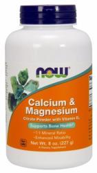 NOW Kalcium-Magnézium por - 227g