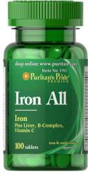Puritan's Pride Iron All tabletta - 100 db