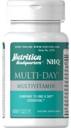 Puritan's Pride Multi-Day Multivitamin tabletta - 100 db