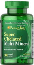 Puritan's Pride Super Chelated Multi-Mineral kapszula - 100 db
