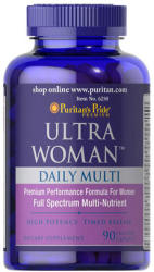 Puritan's Pride Ultra Woman Daily Multi kapszula - 90 db