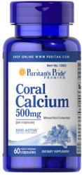Puritan's Pride Coral Calcium 500mg kapszula - 60 db