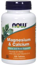 NOW Kalcium & Magnézium tabletta - 100 db