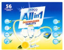 TESCO All in 1 Citrus Mosogatógép Tabletta (56db)