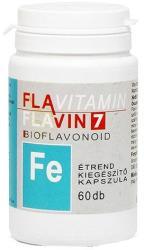 Flavin7 flavitamin Vas kapszula - 60 db