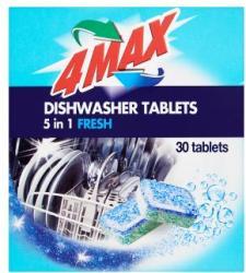 4MAX 5 in 1 Fresh Mosogatógép Tabletta (30db)