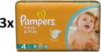 Pampers Sleep&Play 4 Maxi Pelenka -150db
