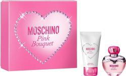 Moschino Pink Bouquet női parfüm szett (eau de toilette) Edt 30ml+50ml Testápoló