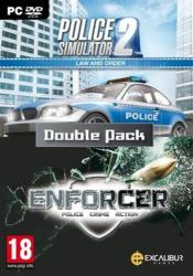Excalibur Law and Order Double Pack: Enforcer + Police Simulator 2 (PC)