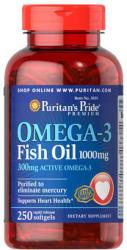 Puritan's Pride Omega-3 Fish Oil 1000mg kapszula - 250 db
