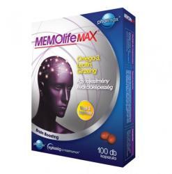 Pharmax MEMOlife Max kapszula - 100 db