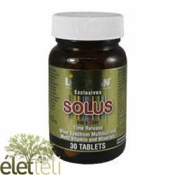 Lifeplan Solus multivitamin tabletta - 30 db