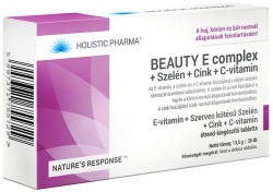 HOLISTIC PHARMA Beauty E complex tabletta - 30 db