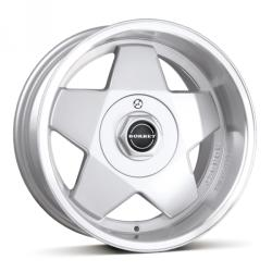 Borbet A silver polished CB64 4/100 16x9 ET15