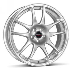 Borbet RS brilliant silver 4/100 17x7 ET45