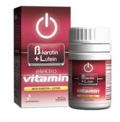 Vita Crystal Elektro Vitamin - Béta-Karotin+Lutein kapszula - 60 db