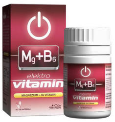 Vita Crystal Elektro Vitamin - Magnézium+B6 kapszula - 60 db