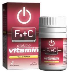 Vita Crystal Elektro Vitamin - Vas+C-vitamin kapszula - 60 db