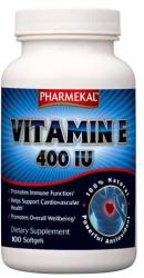 Pharmekal Vitamin E 400 IU kapszula - 100 db