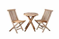 Divero összecsukható kerti bútor tíkfából