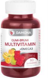 Damona Gumi-Brumi Multivitamin+Omega 3 gumitabletta gyermekeknek - 60 db