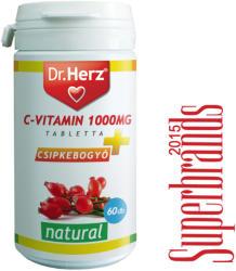 Dr. Herz C-vitamin 1000mg+Csipkebogyó tabletta - 60 db