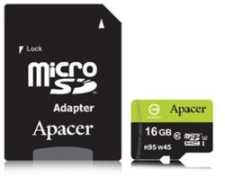 Apacer MicroSDHC 16GB Class 10 AP16GMCSH10U3-R
