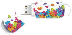 Integral Xpression Puzzle Mix 8GB 8GB INFD8GBXPRPUZZLE