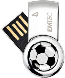 EMTEC Football 4GB USB 2.0 EKMMD4GS370